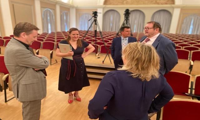 """Symposium """"Mit der Verfassung gegen Antisemitismus"""" an der Universität Potsdam am 30. Juni 2020"""