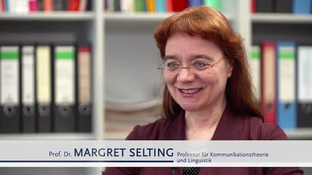 Interview mit Prof. Dr. Selting Teil 01