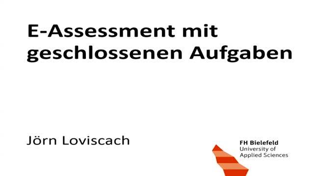 E-Assessment mit geschlossenen Aufgaben