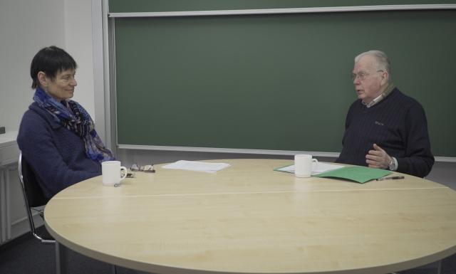 Zeitzeugen der Wende am Institut für Mathematik der Universität Potsdam