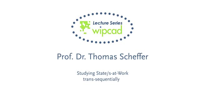 WIPCAD Lecture Series: States-at-work