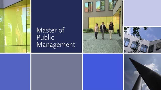 Alumnibefragung Master of Public Management (MPM) 2016