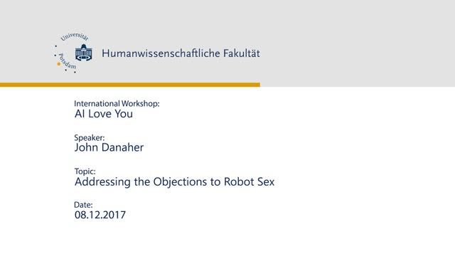 Addressing the Objections to Robot Sex