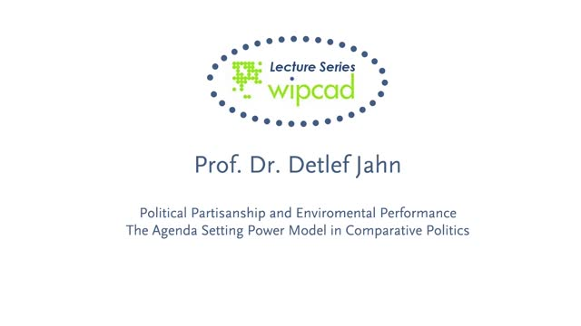 WIPCAD Lecture Series: Environmental Performance of Democracies